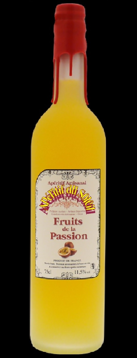 460 aps btle 75 cl aperitif fruits de la passion fond noir